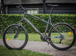 Mountainbike verhuur Spaarnwoude