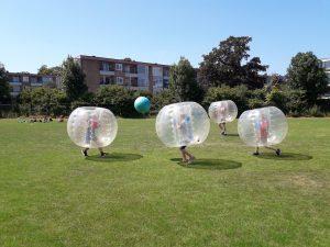Actief kinderfeestje in Haarlem